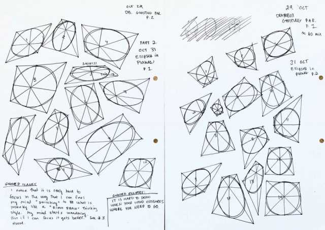 Draw a box Ellipses in Planes